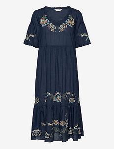 Free The Flower Dress - maxi dresses - blue atmosphere