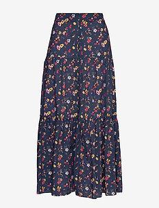 Emily Skirt - jupes longues - dark blue