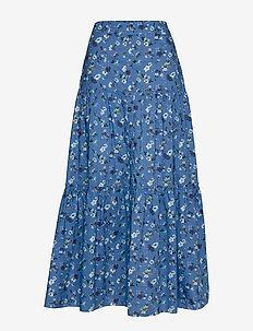 Emily Skirt - jupes longues - soft blue