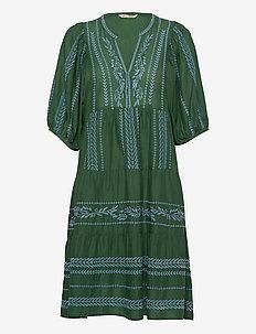 Mariah Dress - midi jurken - tropical green
