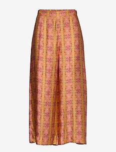 Claudia Pants - bukser med brede ben - tumeric