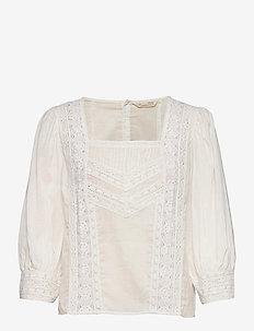 Laura Blouse - blouses à manches courtes - light chalk