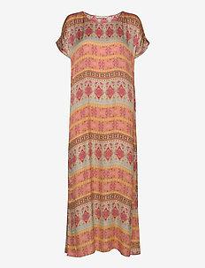 Sophia T-shirt Dress - maxi sukienki - multi