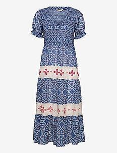 Jovena Dress - sommerkjoler - summer blue