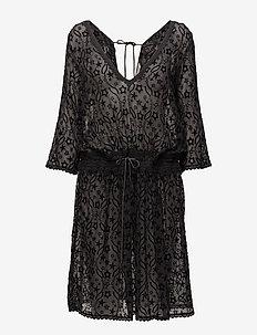 recreation dress - robes midi - asphalt