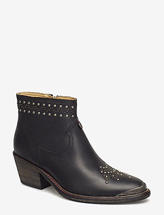 drop dead dazzling low boot - ALMOST BLACK