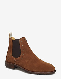mollyhood low suede boot - BROWN