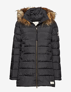 winterland jacket - ALMOST BLACK