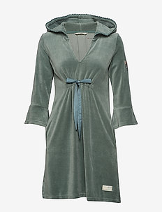 Pretty Comfortable Dress - CARGO GREEN