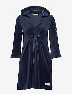 Pretty Comfortable Dress - DARK BLUE