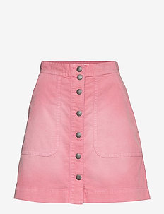 Living All The Way Skirt - STRAWBERRY PINK
