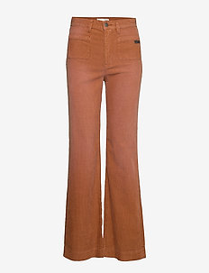 Living All The Way Pant - pantalons larges - golden brown
