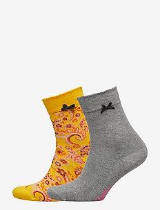Socky Sock - YELLOW PEONY