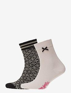 Socky Sock - BLACK TILE