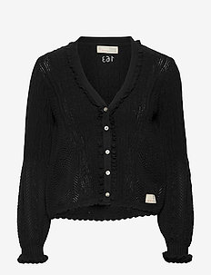 Maureen Cardigan - gilets - almost black