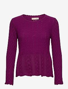 Maureen Sweater - pulls - blackberry bliss