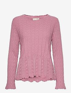 Maureen Sweater - pulls - fair pink