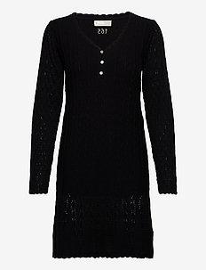 Maureen Dress - hverdagskjoler - almost black