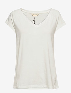 Felice Top - t-shirts - light chalk