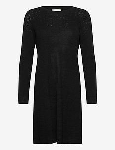 Quinn Dress - hverdagskjoler - black