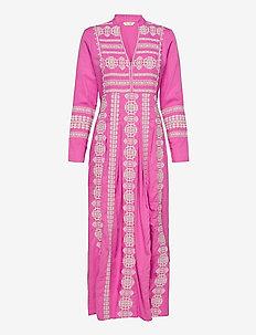 Eloise Long Dress - maxi jurken - pink dahlia