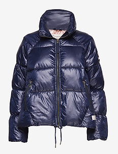 embrace jacket - DARK BLUE
