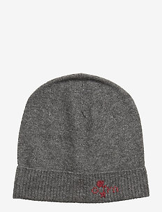 warm and vivid beanie - GREY MELANGE