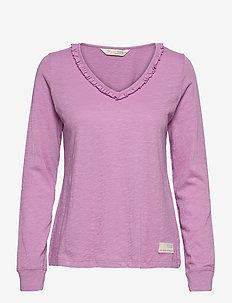 Leonore Top - hauts à manches longues - smokey purple