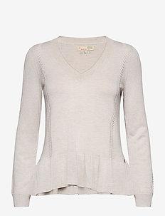 Aurora Sweater - pullover - light grey