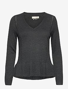 Aurora Sweater - pullover - warm asphalt