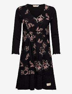 Malvina Dress - korte kjoler - almost black