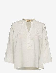 Nadine Blouse - blouses à manches longues - light chalk