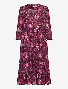 Doreen Dress - sommerkjoler - dark purple