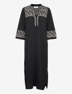 Millie Dress - hverdagskjoler - almost black