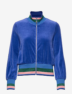 UnconquerableJacket - sweats - deep cobalt