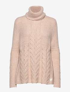 Cozy Hugs Turtleneck - LIGHT POWDER