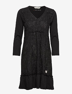 Wearing A Dream Dress - ALMOST BLACK