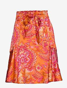 Head Turner Skirt - PUMPKIN ORANGE