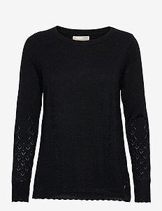 Simone Sweater - trøjer - almost black