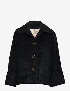 Gemma Jacket - vestes en laine - almost black