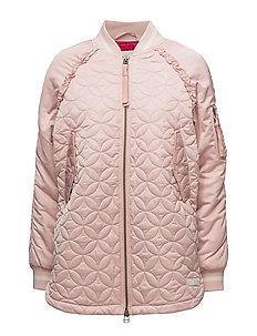 downtown jacket - SMOKE ROSE