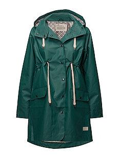 free range rainjacket - GREEN