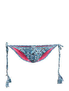 safety triangle bikini bottom - BLUE