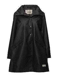 outstanding rainjacket - ALMOST BLACK