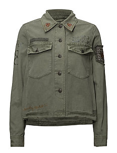 prime time jacket - MISTY GREEN