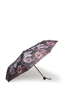 raindrops foldable umbrella - ALMOST BLACK