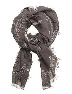 livening scarf - ASPHALT