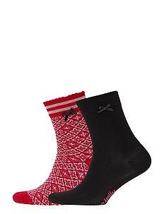 Socky Sock - HOT PINK TILE