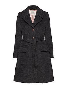 the smart coat - DARK GREY MELANGE