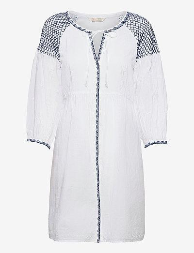 Jill Dress - midi dresses - bright white